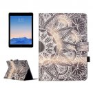 For iPad Air 2/iPad 6 Flower Pattern Flip Leather Case with Holder & Card Slots & Wallet