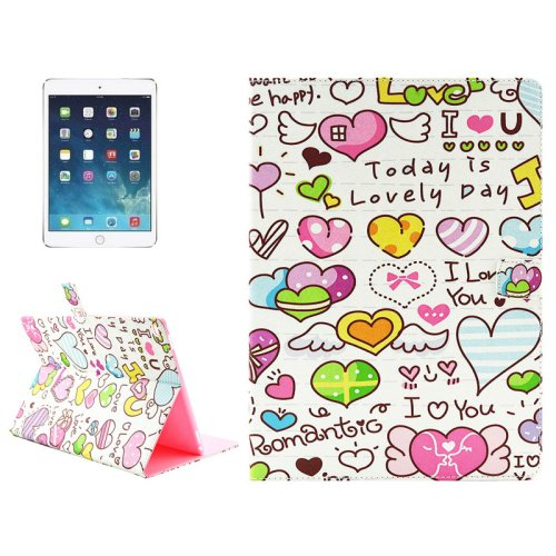 "For iPad Pro 12.9"" Luminous Love Words Pattern Horizontal Flip Leather Case with Holder"
