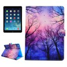 For iPad Air/iPad 5 Star Sky Pattern Leather Case with Holder; Card Slots & Wallet