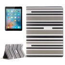 "For iPad Pro 9.7"" Color Matching Grey Leather Case with Card Slots, Holder & Wallet"