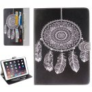 """For iPad Pro 9.7"""" Dreamcatcher Pattern Flip Leather Case with Holder, Card Slots & Wallet"""