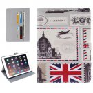 "For iPad Pro 9.7"" UK Pattern Flip Leather Case with Holder, Card Slots & Wallet"