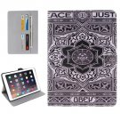 """For iPad Pro 9.7"""" Flower Pattern Flip Leather Case with Holder, Card Slots & Wallet"""