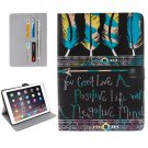 "For iPad Pro 9.7"" Tribal Pattern Flip Leather Case with Holder, Card Slots & Wallet"