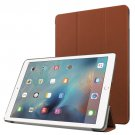 "For iPad Pro 9.7"" Brown Custer Flip Leather Smart Case with 3 Folding Holder"