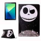 For Tab A 10.1/P580 Ghost Star Pattern Leather Case with Holder, Card Slots & Wallet