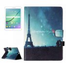 For Tab S2 9.7/T815 Night Tower Flip Leather Case with Holder, Card Slots & Wallet