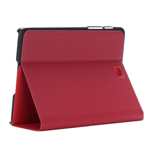 For Tab S2 8.0/T715 Red Frosted Texture Leather Case with Holder