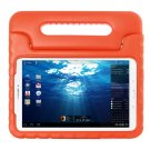 For Tab E 9.6 Orange EVA Bumper Protective Case with Handle & Holder