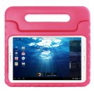 For Tab E 9.6 Magenta EVA Bumper Protective Case with Handle & Holder