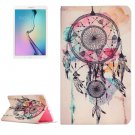 For Galaxy Tab E 9.6 Dream Catcher Pattern Flip Leather Case with Holder