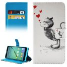 For Galaxy A5(2016) Squirrel Pattern Leather Case with Holder, Card Slots & Wallet
