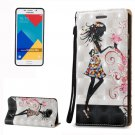 For Galaxy A5(2016) Fairy 3D Leather Case with Holder, Card Slots & Lanyard