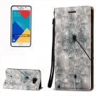 For Galaxy A5(2016) Dandelion 3D Leather Case with Holder, Card Slots & Lanyard