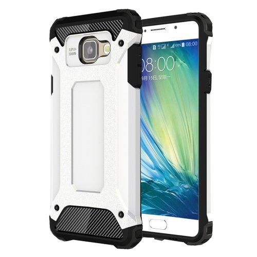 For Galaxy A5(2016) White Tough Armor TPU + PC Combination Case