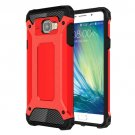 For Galaxy A5(2016) Red Tough Armor TPU + PC Combination Case