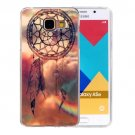 For Galaxy A5(2016) Dreamcatcher Pattern Blu-ray Soft TPU Protective Case