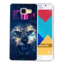 For Galaxy A5(2016) Lion Pattern Blu-ray Soft TPU Protective Case