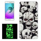For Galaxy A5(2016) Noctilucent Ghost Pattern IMD Soft TPU Back Cover Case