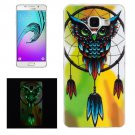 For Galaxy A5(2016) Noctilucent Owl Pattern IMD Soft TPU Back Cover Case