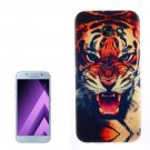 For Galaxy A5 (2017) / A520 Tiger Pattern TPU Back Case