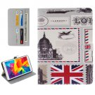 For Galaxy Tab E 8.0 UK Pattern Flip Leather Case with Holder & Card Slots & Wallet