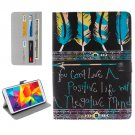 For Galaxy Tab E 8.0 Tribal Pattern Flip Leather Case with Holder & Card Slots & Wallet