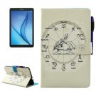 For Galaxy Tab E 8.0 Zodiac Smart Cover Leather Case with Holder & Card Slots & Wallet
