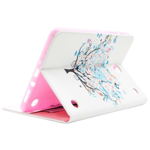 For Galaxy Tab A 9.7 Tree Pattern Flip Leather Case with Holder, Card Slots & Wallet
