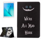 For Galaxy Tab A 9.7 All Mad Pattern Horizontal Flip Leather Case with Holder