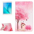 For Galaxy Tab A 9.7 Cottage Pattern Horizontal Flip Leather Case with Holder