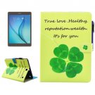 For Galaxy Tab A 9.7 Clove Smart Cover Leather Case with Holder, Card Slots & Wallet