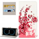 For Galaxy S8 Blossom Pattern Flip Leather Case with Holder, Card Slots & Wallet