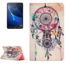 For Galaxy Tab A 7.0 Dream Catcher Pattern Horizontal Flip Leather Case with Holder