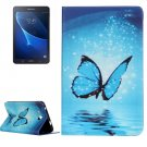For Galaxy Tab A 7.0 Butterfly Pattern Horizontal Flip Leather Case with Holder