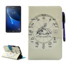 For Galaxy Tab A 7.0 Constellations Smart Cover Leather Case with Holder, Wallet & Card Slots