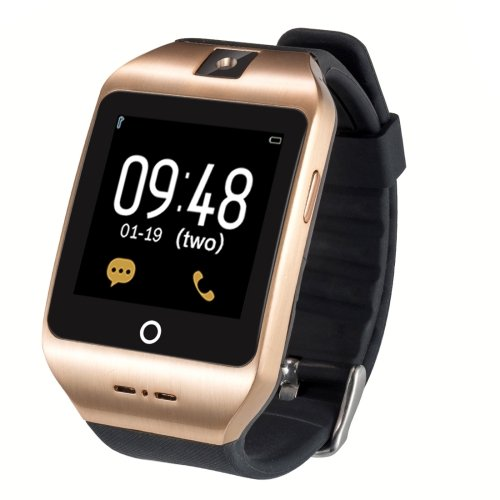 I8S Bluetooth V4.0 Smart Watch with Camera, Support SIM Call - 2 colors