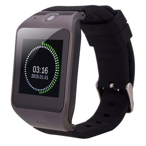 UHAPPY UW1 1.55 inch Capacitive Touch Screen Smart Watch Phone - 2 colors