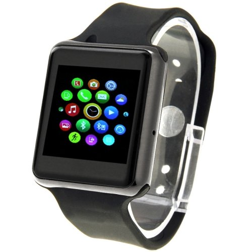 UA8 Resistant 1.54 inch Capacitive Touch Screen Smart Watch Phone - 2 colors