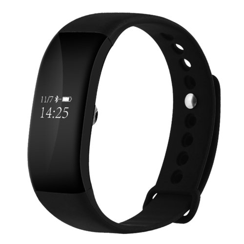 V66 0.66 inch Bluetooth Smart Bracelet Compatible with Android and iOS Phones - 4 colors