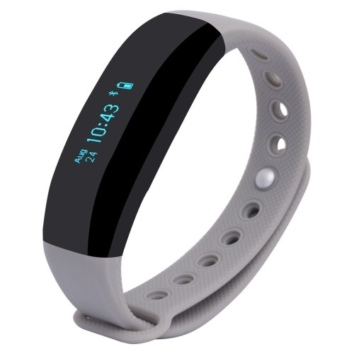 CUBOT V2 Touch Screen Heart Rate Bluetooth Life Waterproof Smart Wristband - 3 colors