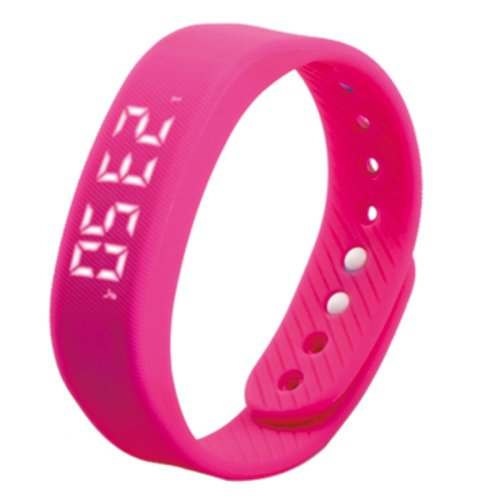T5 Silicone Band Fitness Smart Bracelet, Pedometer / Distance / Time & Date / Calories - 5 colors