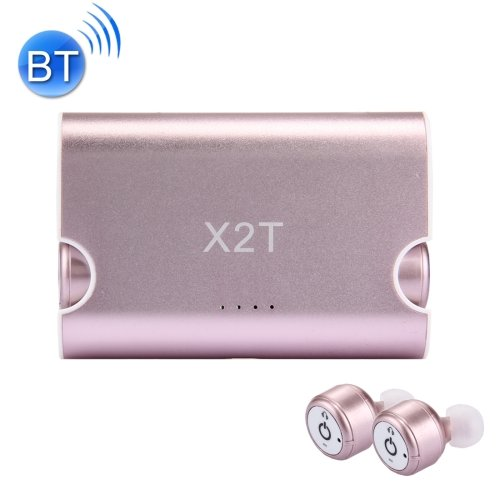 X2T Universal Wireless Bluetooth Binaural Stereo Earphones & Charging Box - 3 colors