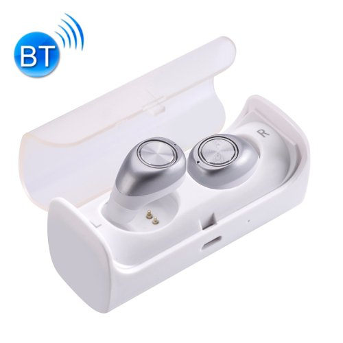 TWS-10 Universal Wireless Bluetooth Binaural Stereo Bass Earphones & Charging Box - 5 colors