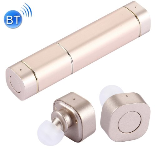 Lipstick Style True Wireless Earbuds Stereo Bluetooth Earphone with Mic - 4 colors