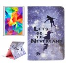 For Tab S 10.5 Neverland Pattern 2 Side Print Leather Case with Holder, Card Slots & Wallet