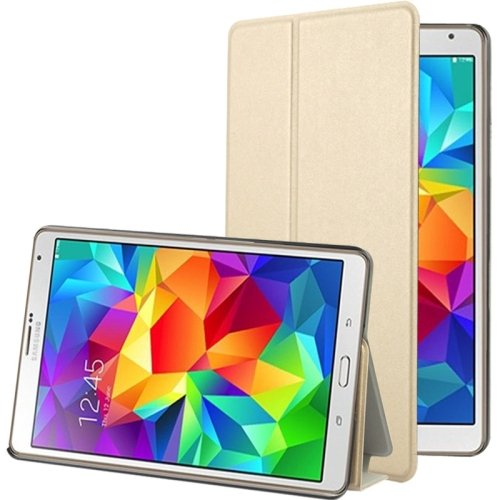 For Tab S 8.4/T700 Frosted Texture Flip Leather Case with Holder - # Colors