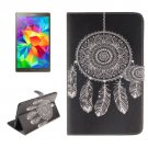 For Galaxy Tab S 8.4 Dreamcatcher Pattern Leather Case with Holder, Card Slots & Wallet