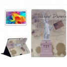 For Galaxy Tab 4 / 10.1 Statue of Liberty Pattern Leather Case with Holder