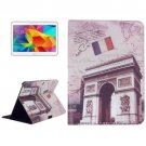 For Galaxy Tab 4 / 10.1 Caesar's Door Pattern Leather Case with Holder